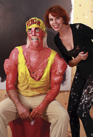 Hulk Hogan and Desmeules