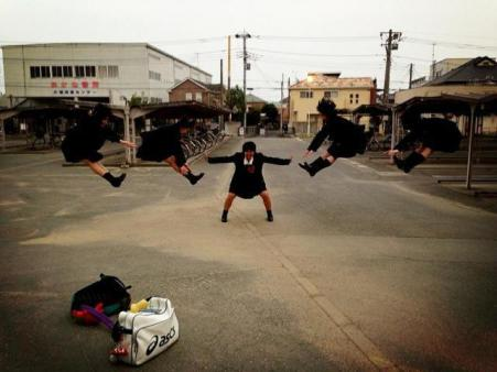 Hadouken-ing in Japan