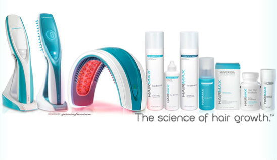Hairmax Hair Regrowth Products: New laser technology & accompanying products claim to regrow hair (image via Facebook)