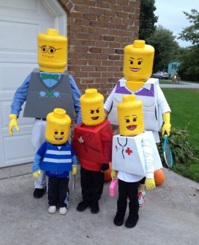 7 lego family - Halloween Costumes Diy Kids
