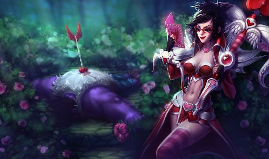 Obviously, they haven't seen Heartseeker Vayne.