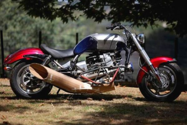 Helicopter Turbine Engine Helps Innovative Motorcycle Beat The