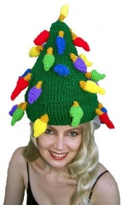 Holiday Lights Hat