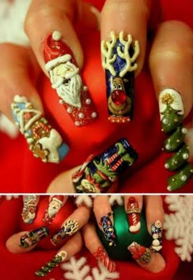 Holiday Nail Art?