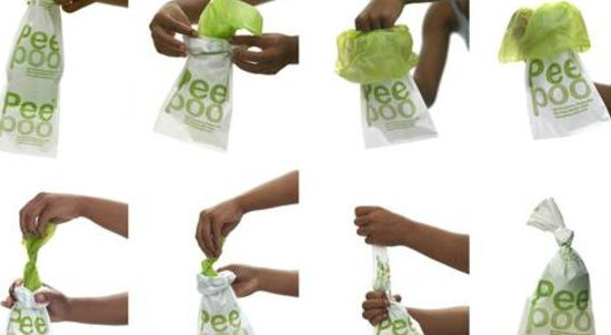 PeePoo Human Waste Disposal System: Sanitary bags from Sweden reduce public health threats