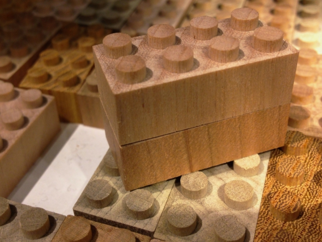 Mokulock Wooden Bricks: Not The Green LEGO Blocks You Were
