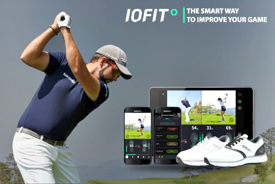 IOFIT Smart Shoes: Smart golf shoes (image via IOFIT)