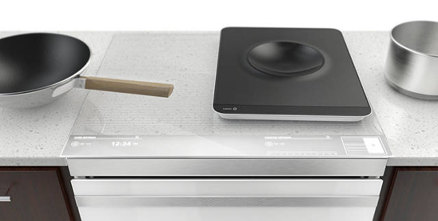 Inline Induction Cooktop