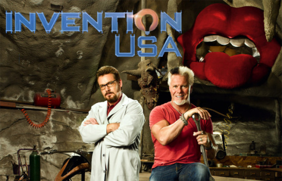 Reichart Von Wolfsheild and Scotty Ziegler on the History Channel's 'Invention USA': © The History Channel