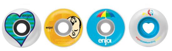 Enjoi Skateboard Wheels