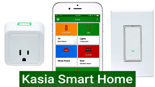 Smart Technology: Control your environment from an app or programmable remote