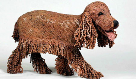 "Nirit Levav Dog Sculptures - ""Koka"""