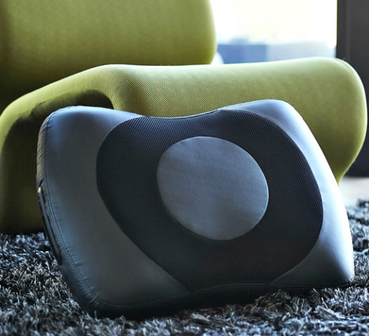 The Kushion Bluetooth Speaker Pillow: Portable speaker pillow (image Kushion)