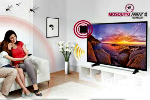 LG India's Mosquito-Away Technology TV: A television set that doubles as a pest control device