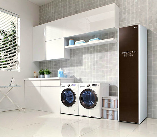 The LG Styler Home Dry Cleaner: Residential application of the LG Styler