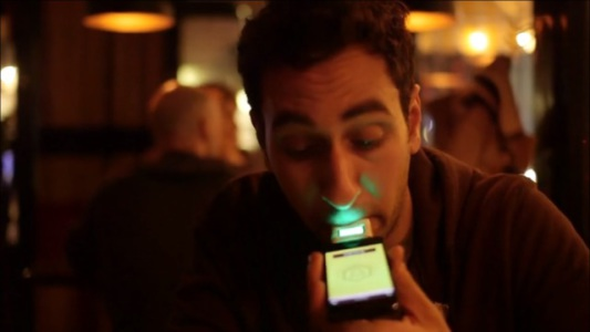 To access LIVR, one must first blow into the included breathalyzer.
