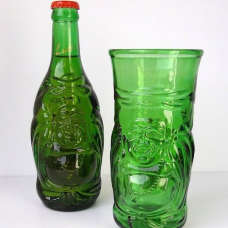 Lucky Buddha Glass (Protect the Planet)