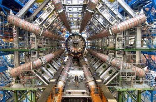"CERN Image: Early next week the 27km Large Hadron Collider (LHC) will get to work and set out to prove the ""rainbow gravity"" theory is in fact a reality."