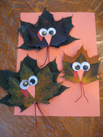 Leaf Turkeys