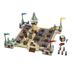 Harry Potter: LEGO, Hogwarts castle and a boardgame - what could be better?