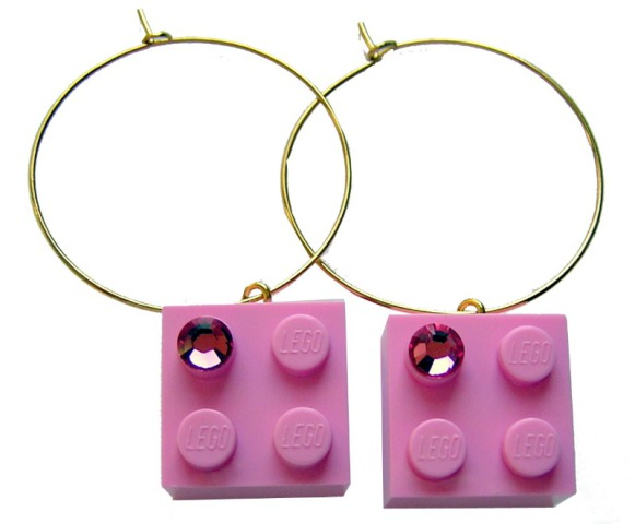 Mademoiselle Alma LEGO Earrings