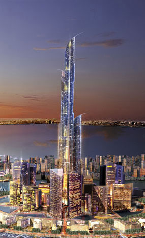 The Proposed Burj Mubarak Al-Kabir (from WikiMedia)