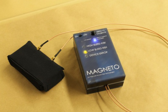 Magneto, Magnetic Induction Internal Bleed Detector, BMEidea 2011: University of Michigan, Ann Arbor