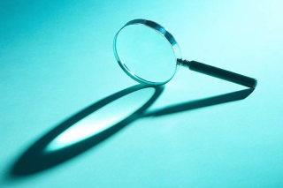 Magnifing glass: Start searching for the facts