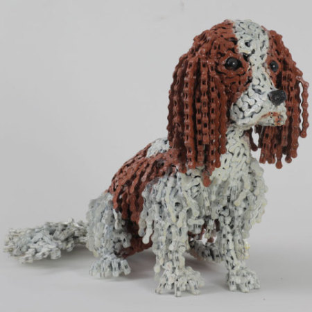 "Nirit Levav Dog Sculptures - ""Max"""