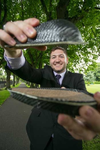 Cork Institute of Technology 2015: James King has invented Medi-Pod, which is a lightweight durable drone compatible medical transportation device.