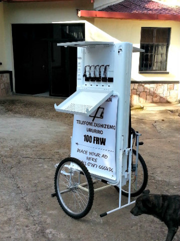 Mobile Charging Kiosk Runs On Solar Energy: People in rural areas don't always have reliable power sources