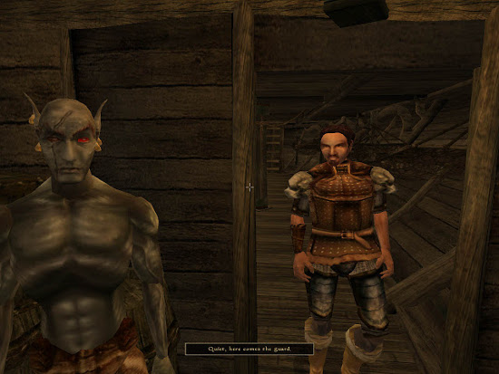 Morrowind before modding...