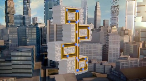 Image: MULTI elevators will dramatically change the way in which buildings are designed.