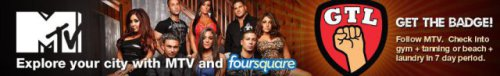 Foursquare & Jersey Shore 3rd Season Promotion