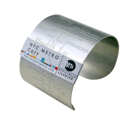 NYC Metro Cuff (Embossed)