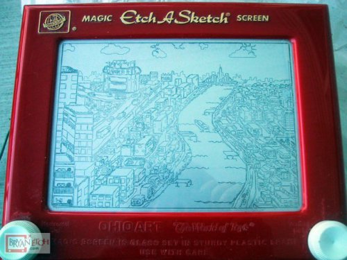 NYC (First Serious Etch)