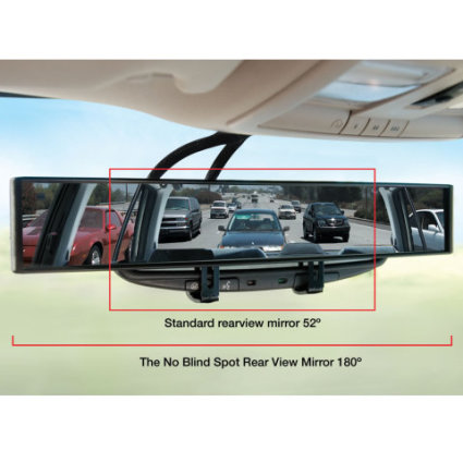 The No Blind Spot Rear View Mirror