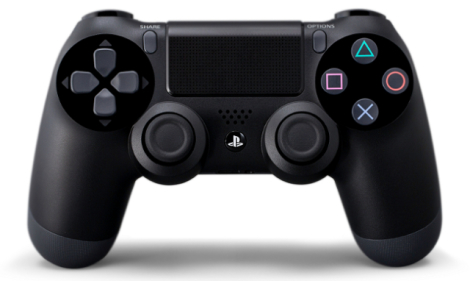 This is the PlayStation 4 Controller.