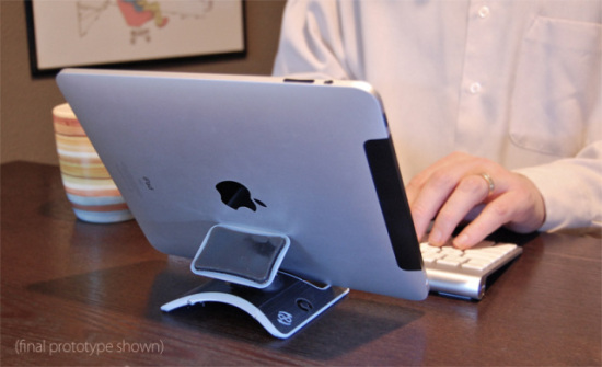 iPad becomes hands-free with the PadPivot: PadPivot