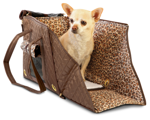 Sherpa Park Tote Pet Carrier, Brown