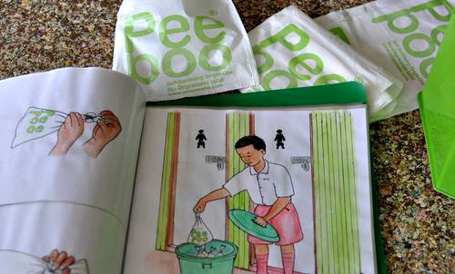 PeePoo Human Waste Disposal System: Sanitary bags can help improve the human condition