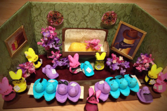 Rest in Peep to our Fellow Treat, by Jill Schaefer, Minnetonka: image via twincities.com
