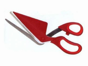 Pizza Scissors Invention