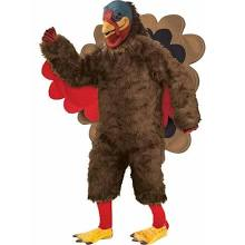 Tom the Turkey Mascot