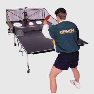 Ping Pong With Newgy Robo Pong