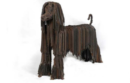 "Nirit Levav Dog Sculptures - ""Princess"""