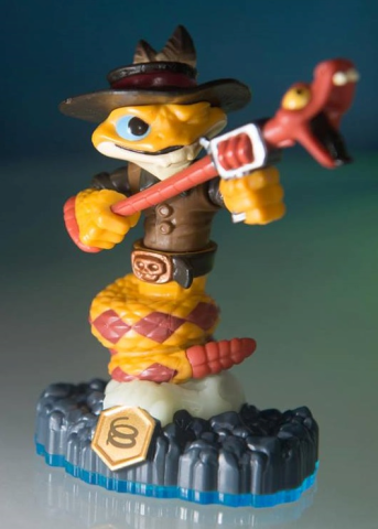Rattle Shake, the Skylanders Swap Force figure