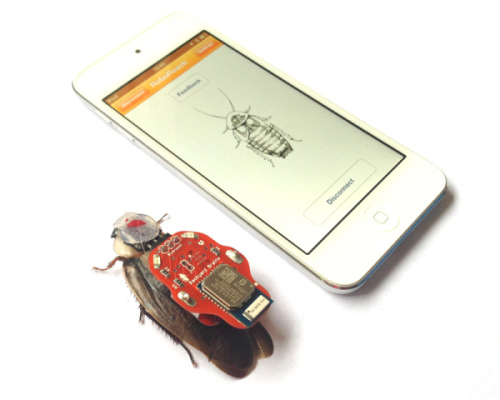 Smart Phone Controlled Roach