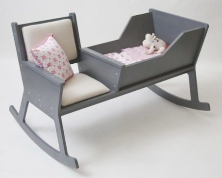 Rockid, Two-in-One Rocking Chair and Cradle