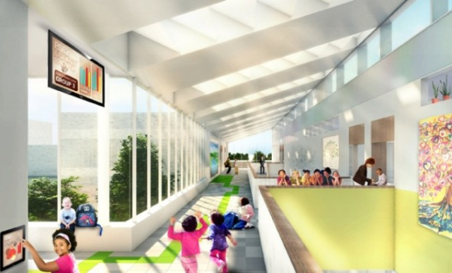 Skidmore Owings & Merrill LLP Design the First Net-Zero Elementary School